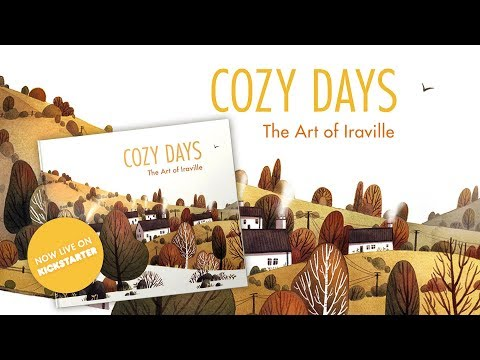 Cozy Days – The Art of Iraville (my new artbook)!