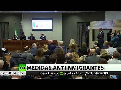 El Senado de Italia aprueba un decreto que endurece las medidas antimigrantes