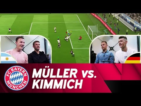 Thomas Müller vs. Joshua Kimmich | FIFA 18 Exhibition Match