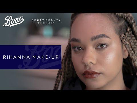 boots.com & Boots Discount Code video: Make-up Tutorial | Rihanna Make-up Look | Boots X Fenty Beauty | Boots UK