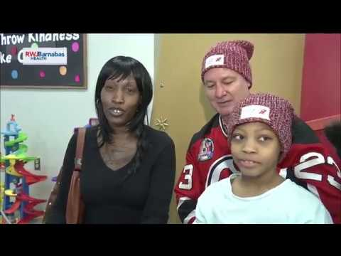 NJ Devils and Love Your Melon Team Up to Bring Cheer to NBI