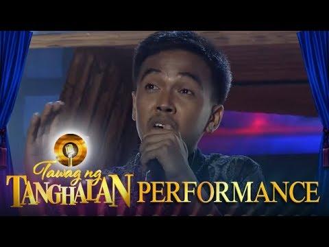 Tawag ng Tanghalan: Reynaldo Osorio Jr | I Can't Let Go