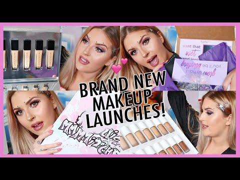new makeup unboxing! ? HUGE PR HAUL & Giveaway! shaaanxo