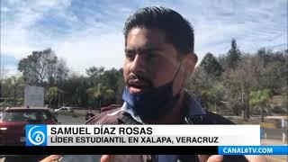 ????Estudiantes de Veracruz denuncian desvío de recursos por más de 10 millones de pesos