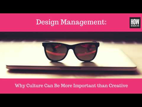 Preview: Why Culture Can Be More Important than Creative