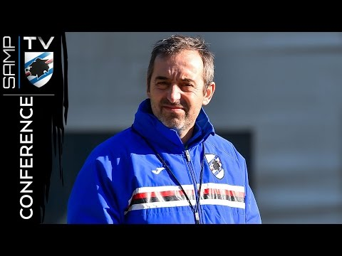 Sampdoria-Juventus: la conferenza di Giampaolo