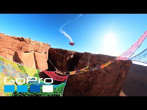 GoPro Awards: Wingsuiter Flies Through Narrow Hole Over 400ft Canyon
