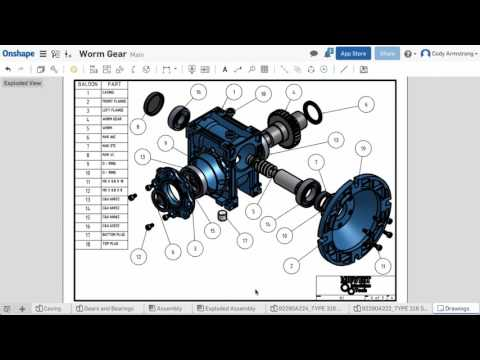 What's New in Onshape (January 13th, 2017) Shaded Drawing Views