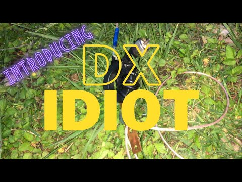 Introducing the DX Idiot - Homebrew HF Vertical Antenna