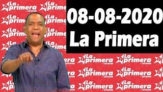 Resultados y Comentarios LOTERIA LA PRIMERA 08-08-2020 (CON JOSEPH TAVAREZ)
