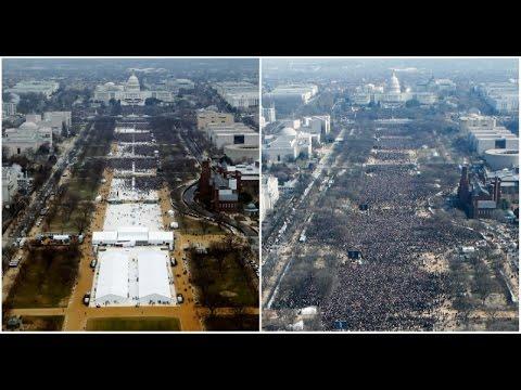 Trump press secretary disputes reports of low turnout at inauguration