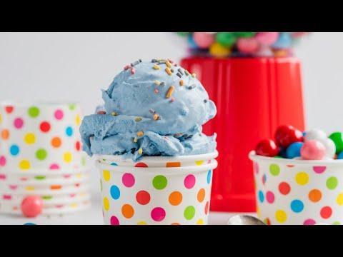 Homemade Bubble Gum Ice Cream #shorts