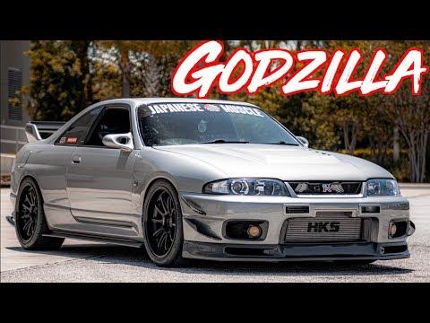 Sequential Skyline R33 GTR Street Drive - Godzilla RB26 2.9L Stroker!