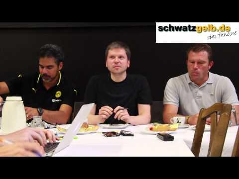 Borussia Dortmund U23 - Alemannia Aachen: Interviews & PK