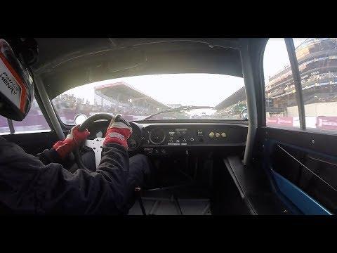 Le Mans Classic 2018 : 3 véhicules en course (A443, M65, A110)