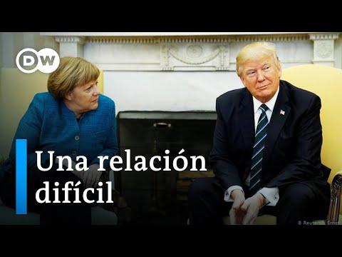 Desencuentros entre Merkel y Trump
