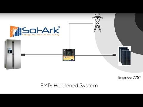 EMP  Hardened Solark Installation