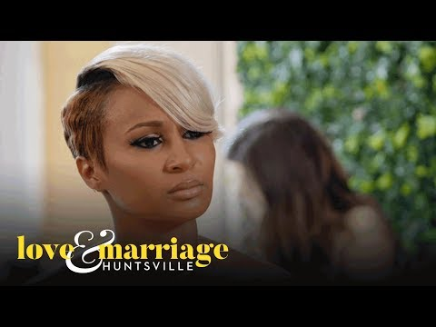 Melody and Latisha Clash Over the Rumors About Marsau | Love and Marriage: Huntsville | OWN