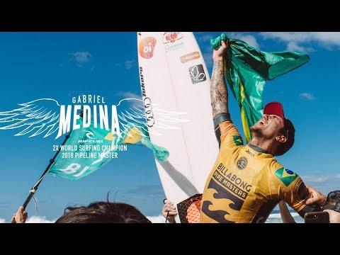 Finals Day | Behind The Scenes with Gabriel Medina | #VaiMedina