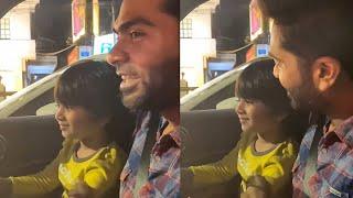 Silambarasan Making Fun With His Sister's Son | Tollywood - TFPC