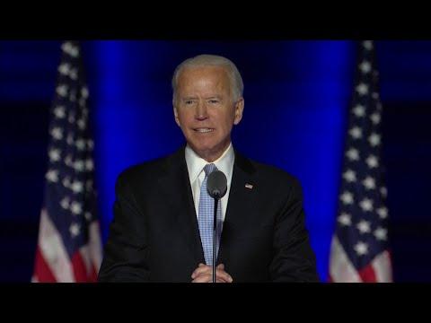 El discurso completo (en inglés) de la victoria de Joe Biden