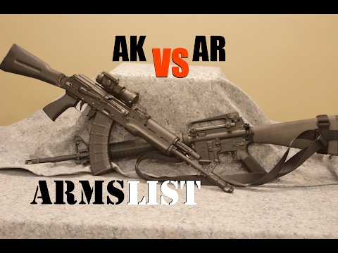 AR-15 vs AK-47:  Which is the best rifle for YOU?