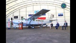 Cessna Caravan se suma a flota aérea del Servicio de Vigilancia Aérea