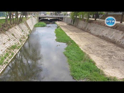 BTA: Почистено е коритото на Струма в центъра на Перник