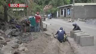 Mejoran caminos en puntos críticos de Masatepe – Nicaragua