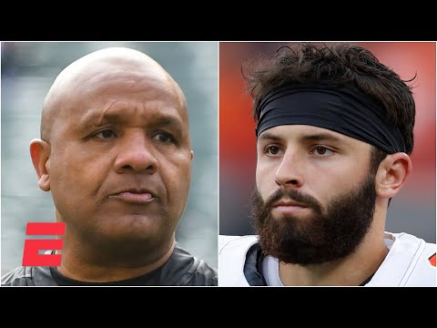 Hue Jackson on Baker Mayfield's progress with the Browns   KJZ