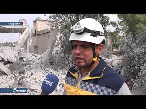 قتلى ومصابون بقصف لطيران ميليشيا أسد على قرى كفرعويد وسفوهن بجبل الزاوية - سوريا