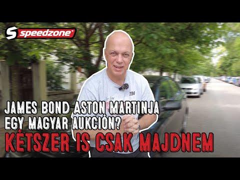 Speedzone vasárnapi Csik: James Bond Aston Martinja egy magyar aukción? Kétszer is csak majdnem