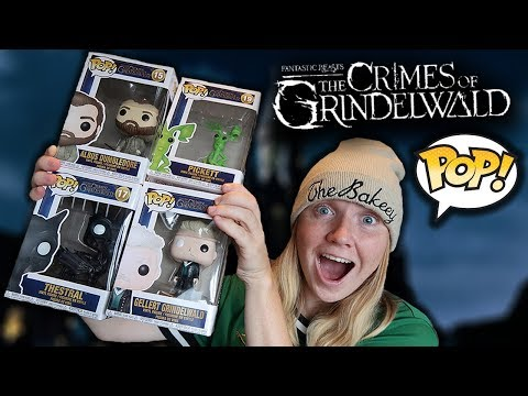BRAND NEW CRIMES OF GRINDELWALD FUNKO POPS UNBOXING!