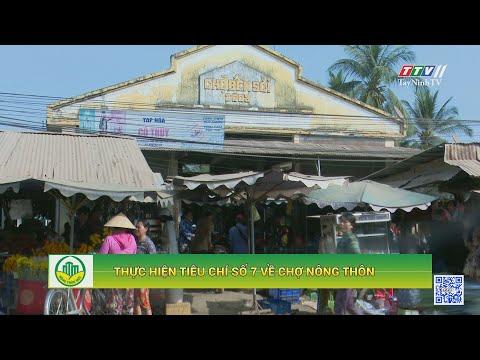 Thực hiện tiêu chí số 7 về chợ nông thôn   TÂY NINH XÂY DỰNG NÔNG THÔN MỚI   TayNinhTV