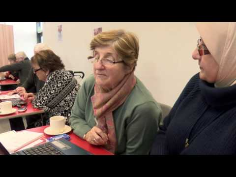 Learner Mary Doyle talks about computer training with Age Action