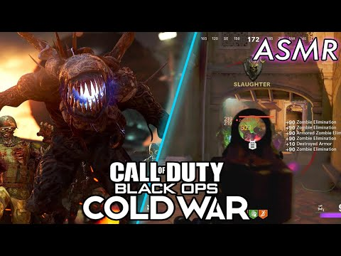 ASMR GAMING   Call Of Duty: ColdWar   New Zombies FireBase Z First Solo s Game ~ ASMR Music