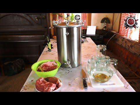 Canning Pork In A Pressure Cooker Like Grandma - Long Shelf Life