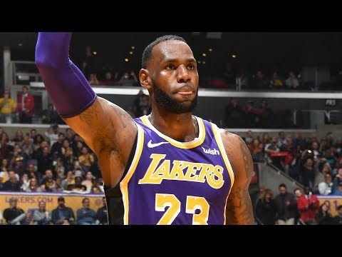 LeBron James Moves Up To 4th On The NBA's All-Time Scoring List With The AND-1 | March 6, 2019