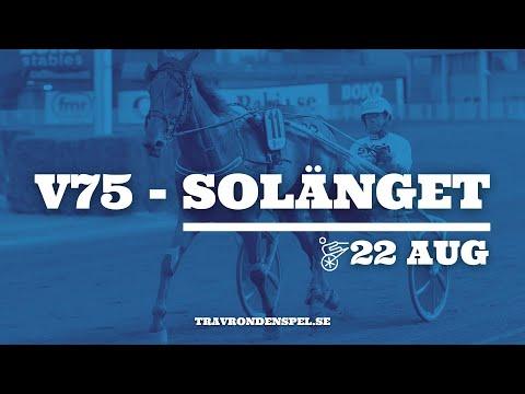 Travtips V75 Solänget - 22 augusti 2020