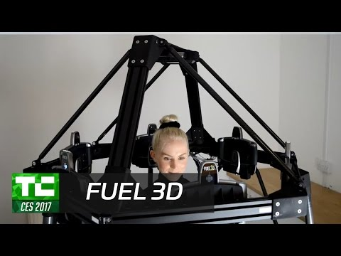 Fuel3D specializes in high speed 3D capture of organic forms