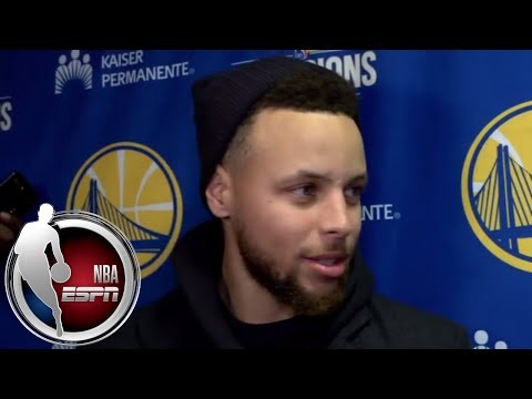 connectYoutube - Stephen Curry jokes about his dunk vs. Cavs: 'Somebody said it was like a unicorn sighting' | ESPN