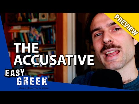 The Accusative in Greek (how to use) | Super Easy Greek 26 photo