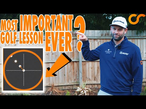 THIS COULD BE THE MOST IMPORTANT GOLF LESSON EVER!