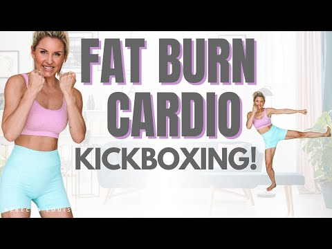GET SWEATY💦 Cardio KICKBOXING Workout at Home