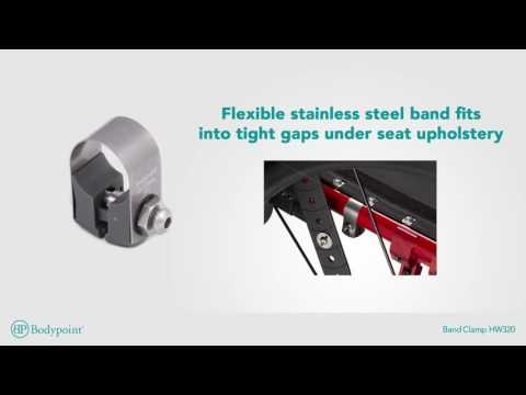Bodypoint | Band Clamp | Wheelchair Hardware - French