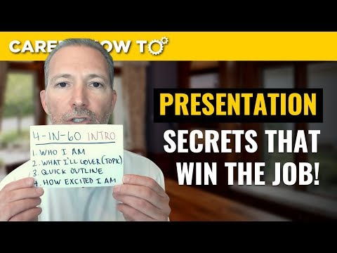 How to Give a Presentation in a Job Interview photo