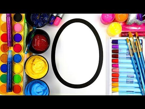 Colouring Easter Eggs 3 Styles, Easter Egg Art for Children