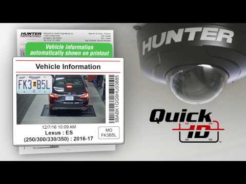 Quick ID™ Automatic Vehicle Identification - Hunter Engineering