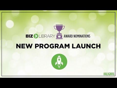 ALIGN 2016 - Best New Program Launch