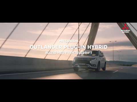 Mitsubishi Outlander Plug-in Hybrid - med fyrhjulsdrift som standard!